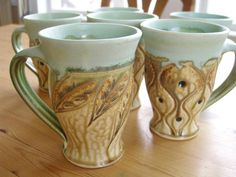Ira Burhans's beautiful pottery