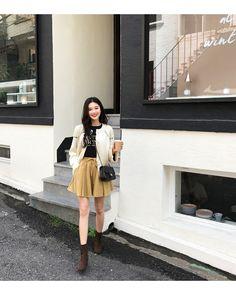 #Dahong Autumn style2017 #Eunji