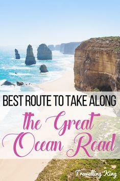 Best Route to take along the Great Ocean Road - Victoria Australia | Great Ocean Road Travel | Great Ocean Road Australia | Great Ocean Road Itinerary | Great Ocean Road travel guide | Australian Road trip #roadtrip #greatoceanroad #Australia
