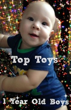 Looking for gift ideas for a one year old boy?  Here are some of the Best Toys for 1 Year Old Boys, whether you are shopping for a birthday or Christmas!