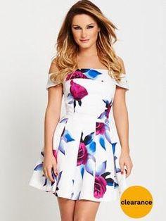 Sam faires off the shoulder dress Guess Clothing 22e1d2f7922