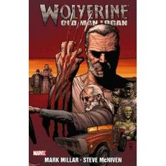 Written by Mark Millar (Wanted, Kickass, Ultimates). Based  in a post apocalyptic world, Wolverine has long given up his title and using his claws. He goes on cross country trip with a blind Hawkeye to earn some money so he can pay his rent.