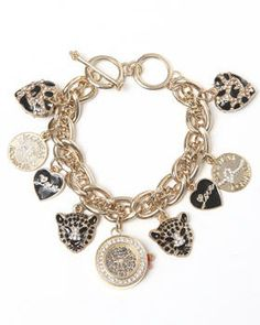 Rocawear | Hearts Panther Animal Face Charm Watch! Get it at DrJays.com
