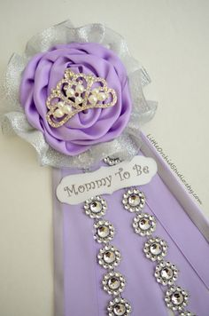 Royal princess baby shower/ Princess Theme/ Mommy to be corsage/ Mommy to be…