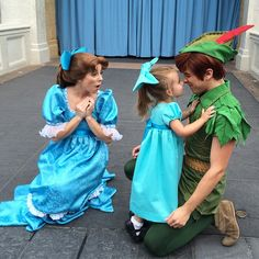 Mom Designs Adorable Costumes for 3-Year-Old Daughter to Wear Around Disney World - So cute!  All of them!