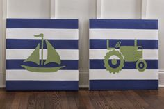 Making these for the boys ,---->Organized Chaos: DIY Art for Davis's Big Boy Room