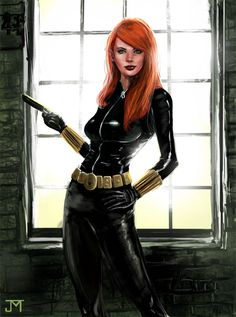 Black Widow by ~Manji675 on deviantART