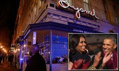 Barack Obama and Michelle celebrate the first lady's birthdayat a Mexican restaurant | Daily Mail Online