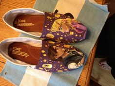 Hand painted Toms EXAMPLES