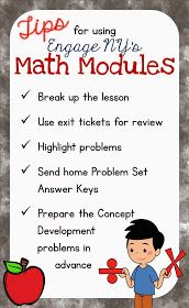 Elementary School Garden: Tips for Implementing Engage NY's Math Modules in 60 Minutes Eureka Math 4th Grade, Sixth Grade Math, Fourth Grade Math, Second Grade, Engage Ny Math, Math Strategies, Math Resources, Math Tips, Math Activities