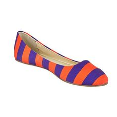 Clemson University Gameday Flats Size 7 >>> Be sure to check out this awesome product.