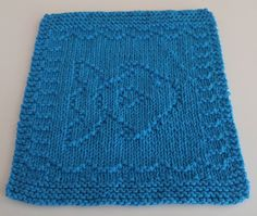 "My very best knitting buddy and friend is named ""Tunie"". When I was trying to decide what to name this cloth, it just popped into my head, Tunie Fish! What else? Fortunately, the real Tunie is a good sport and got as big a laugh out of it as I did. She has a hilarious story about how she ended up with her name on her profile page here on Ravelry, peacockmom. I'm very fortunate to have such a talented and kind friend in my life."