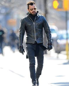 Steal This Beard and Hair Style From Justin Theroux Justin Theroux, Fashion Moda, Mens Fashion, Men Tumblr, Scottish Fashion, Mens Trends, Tumblr Fashion, Mode Style, Style Men