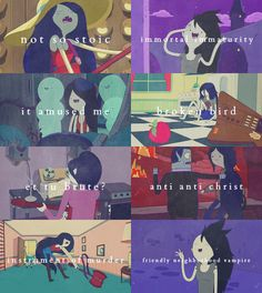 adventure time character tropes→ marceline...