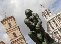 El Pensador de Rodin, Murcia