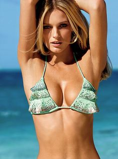 VS Stringkini® Sequined Waterfall Triangle Top - Very Sexy® - Victoria's Secret