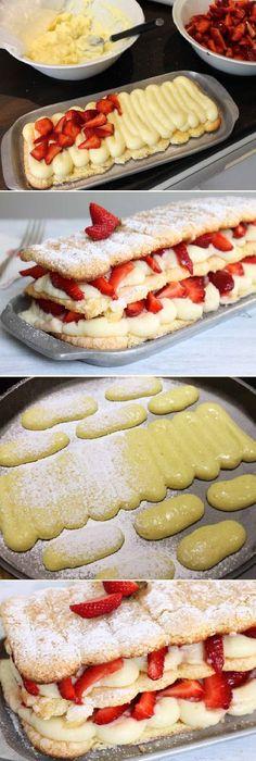 Vainillas Caseras Soberanas el postre hiper rápido de armar! #vainilla #vainillas #postres #receta #recipe #casero #torta #tartas #pastel #nestlecocina #bizcocho #bizcochuelo #tasty #cocina #chocolate #pan #panes Si te gusta dinos HOLA y dale a Me Gusta MIREN…