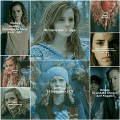 Tlhe life of Hermione Jean Granger
