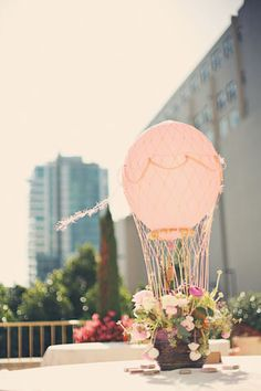 5 unique ways to use balloons   baby shower centerpiece inspiration!