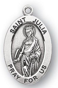 St. Julia Sterling Medal