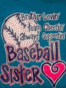 Brother Lovin Baseball Sister