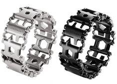 Leatherman Tread Multi-Tool Bracelet Is Packed With 25 Tools (video)