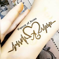 a for allah peace of my heart always forever till death can not change it Stylish Mehndi Designs, Mehndi Design Pictures, Dulhan Mehndi Designs, Beautiful Mehndi Design, Dubai Mehendi Designs, Mehandi Designs, Beginner Henna Designs, Best Mehndi Designs, Simple Mehndi Designs