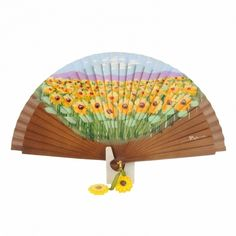 Sunflowers Fan | Paula Alonso