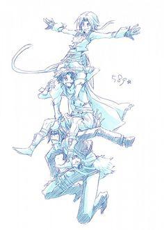 Final Fantasy VII, Squall Leonhart, Final Fantasy VIII