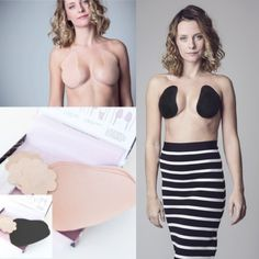 Brassybra is the original🥇 Adhesive bra/breast tape that mimics the skin and that also lifts, shapes and supports. breast tape boob tape adhesive bra stick on bra strapless bra backless bra invisible bra