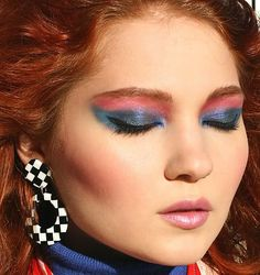 The wild and crazy 80s makeup | Make Up by Cheryl H