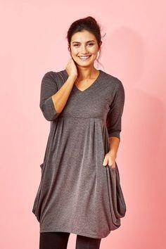 bird keepers The Pocket Tunic Dress - Womens Knee Length Dresses - Birdsnest Online Store