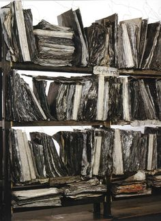 "Anselm Kiefer ""The book, the idea of a book or the image of a book, is a symbol of learning, of transmitting knowledge. I make books to fi. Anselm Kiefer, Willem De Kooning, Art Sculpture, Modern Sculpture, Statues, Musée Rodin, Installation Art, Les Oeuvres, Art History"