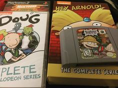 Interesting one by theretrowall #retrogaming #microhobbit (o) http://ift.tt/2qFaQNG night! Anybody remember these characters?! These shows were essentials for any kid growing up in the 90's... #nintendo #n64 #nes #doug #rugrats #heyarnold #90s #90skid #nostalgia #90snickelodeon #90snick #retrogame #retrogamer  #playstation #playstation2 #sonyplaystation #sony #oldschool #theretrowall