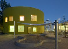 Tellus nursery school by Tham and Videgard Arkitekter