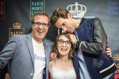 Mika and Radio Monte Carlo people