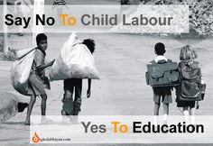 On this #childrenday just take an oath for stop child labour because Child is meant to learn, not to earn!! So Stop Child Labour!! Show a child love & care, Child labour is just not fair!! Happy Children's day...