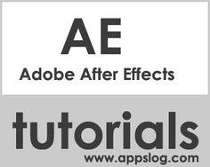 70+ Adobe After Effects Best Tutorials