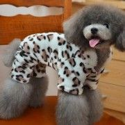 Adorable Leopard Dog Coat for Dog Hoodie Dog Clothes Soft Cozy Pet Clothes for your favorite pooch. Not only is this clothing is adorable, but also it is functional...
