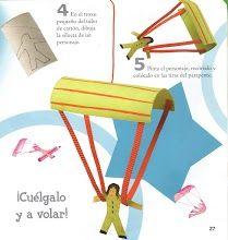 parachute knutsel
