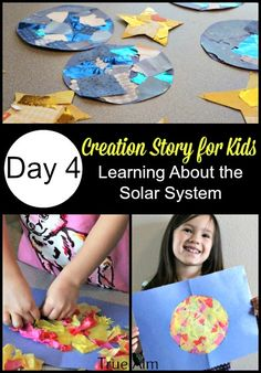 Creation Story for Kids - learning about the solar system