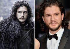 Dentro e fora de Westeros: Como são os personagens de Game of Thrones na vida real