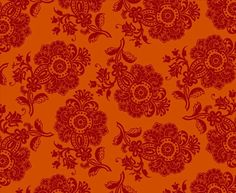 Pom Pom Paisley </br> Bright Magenta on Orange Magenta, Aqua, Orange Fabric, Paisley, Lime, Tapestry, Bright, Prints, Hanging Tapestry