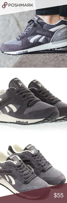 78e39839c2b2 NIB Reebok GL 6000 jersey sneakers running shoes Big kids size 5 but fits  my size