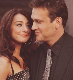 Alyson Hannigan and Jason Segel (Lilly and Marshall in HIMYM... one of my many OTPs)