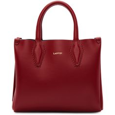 Shop from luxury labels, emerging designers and streetwear brands for both men and women. Logo Stamp, Shopper Tote, Red Garnet, Womens Tote Bags, Lanvin, Black Suede, Shoulder Strap, Luxury Fashion