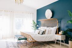 Not Your Grandma's Rattan: The Bed We're Loving Right Now — Currently Obsessed