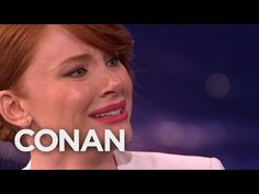 Bryce Dallas Howard Can Cry On Command  - CONAN on TBS - The ending is the best part. SO FUNNY!! XD