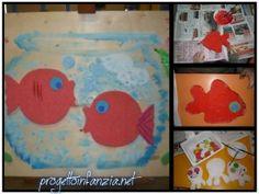 Il colore ROSSO con i pesci rossi di MATISSE  Prendendo spunto dal meraviglioso quadro di Matisse, I Pesci Rossi, abbiamo proposto il colore ROSSO ai bambini di 3 anni.  Lo conoscete il quadro? Vi é un gruppo di quattro pesciolini rossi che nuotano nella loro brocca, con lo sguardo rivolto verso il curioso … Continua la lettura di Il colore ROSSO con i pesci rossi di MATISSE →