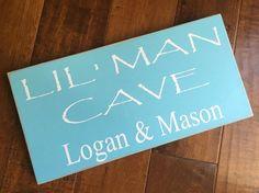 Little Man Cave Boys Decor Boy BedroomLil' by SplendidExpressions